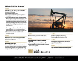 Mineral Lease Process